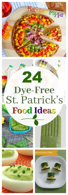 24 Dye-Free Ideas for Fun St. Patrick's Day Food | Healthy Ideas for Kids