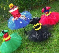 super hero tutu costumes