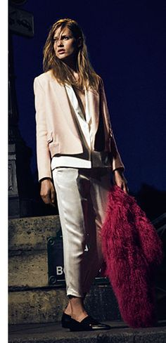 Pink Color Trend Fall 2015 Lookbook