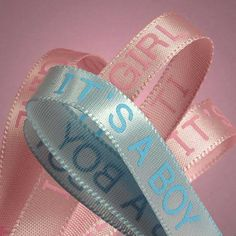It's A Boy/Girl Satin Ribbon