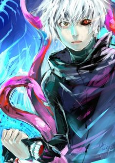 Try to look at the world from a different perspective. Kaneki - Tokyo Ghoul