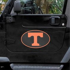 "Tennessee Volunteers Carbon 12"" x 12"" Oval Full Color Magnet - $9.59"
