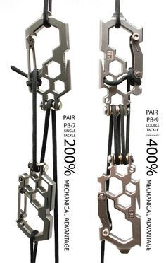 I want two of the PB-9.  Think of the cool pioneering projects you could do with just these, paracord and logs...