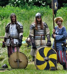 annual medieval festival about the living and fighting of Vikings, Varangians ans Slavics in early medieval age for a better sight you need to see the whole series picture after picture, to…