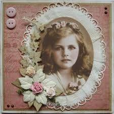 Afbeeldingsresultaat voor vintage kaarten Doilies Crafts, Lace Doilies, Scrapbook Pages, Scrapbook Layouts, Scrapbooking, Picture Cards, Decoupage, Mixed Media, Collage