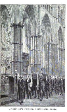 Funeral of David Livingstone at Westminster Abbey