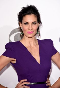 Daniela Ruah at the 2015 People's Choice Awards. http://beautyeditor.ca/2015/01/11/peoples-choice-awards-2015