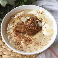 Bubur (porridge indonésien) – pomme gingembre