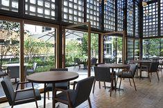 El restaurante Bosco de Lobos coloniza el Colegio de Arquitectos de Madrid.   diariodesign.com