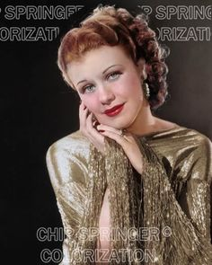 5 DAYS! 8X10 GINGER ROGERS IN ROBERTA BEAUTIFUL PHOTO BY CHIP SPRINGER. Please visit my Ebay Store at http://stores.ebay.com/x5dr/_i.html?rt=nc&LH_BIN=1 to see the current listings of your favorite Stars now in glorious color! Message me if you would like me to relist your favorites.