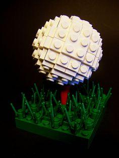 Lego golf ball