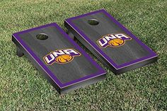University of North Alabama UNA Lions Cornhole Game Set Onyx Border Design >>> Be sure to check out this awesome product.