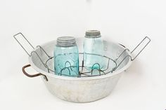 Vintage Canning Bath Canning Pot Aluminum Tub by Vintassentials