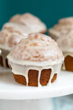 Gingerbread Doughnut Muffins by cookingclassy. Here is the link: http://www.cookingclassy.com/2013/10/gingerbread-doughnut-muffins/  #Doughnut #Muffin #Gingerbread