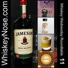 #Whiskey Wednesday Roundtable 11 is online! Lovin' on some #Irish this week. http://WhiskeyNose.com