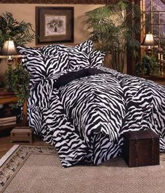 Zebra Bedding Sets In Black And White Zebra Print Bedding Inspires Images  Of An African Safari And Adds An Exotic Flare To Any Bedding.