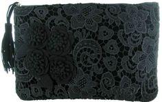 Irregular Choice Cheeky Moose Black Black New Womens Hand Clutch Bag