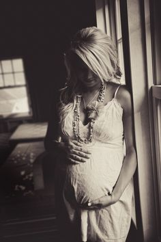 This angle  Natural light maternity portrait....www.paigelowephoto.com