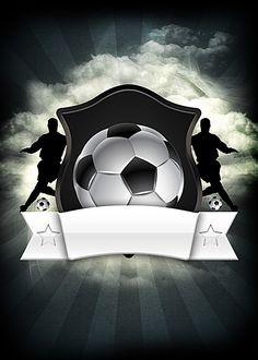 Cool Black And White Football Poster Design Soccer Referee, Soccer Pro, Soccer Theme, Soccer Socks, Girls Soccer, Soccer Ball, Football Tournament, Football Stadiums, Soccer Hair Bows