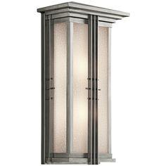 Kichler Lighting Kichler Outdoor Wall Light in Stainless Steel Finish | 49160SS | Destination Lighting
