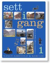 Sett i Gang 1 & the textbook/workbook set I teach from at Sons of Norway Grieg Lodge in Portland, OR, USA. Free audio for all books from the website as well. Sons Of Norway, University Courses, Cultural Studies, Textbook, Curriculum, Vocabulary, Teacher, Education, Learning