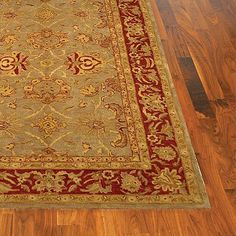 "Helena Wool Area Rug - 2'3"" x 8' Runner - Frontgate by Frontgate. $215.00. Handcrafted with an especially thick, lush pile. Depending on the size, slight variations in the border design may occur in these unique and individually crafted area rugs. Incredibly easy to care for. Made from 100% New Zealand wool. Cotton-backed for extra durability. Made from 100% New Zealand wool. Handcrafted with an especially thick, lush pile. Cotton-backed for extra durability. Inc..."