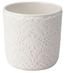 Kinto Couture Plant Pot Lace