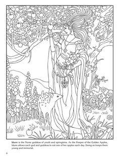 bol.com | Goddesses, Marty Noble & Coloring Books | 9780486480282 | Boeken