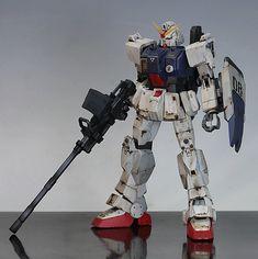 GUNDAM GUY: HGUC RX-79[G] Gundam Ground Type - Customized Build