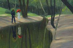 Bois de Boulogne | Felix Vallotton, 1919