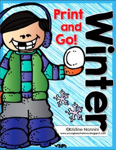 FREE!! Winter Print and Go 4th and 5th Grade ELA FREEBIE!!! This is a HUGE 15+ page freebie from Kristine Nannini! Perfect for review, as an assessment, morning work, in a center, as homework, and more!