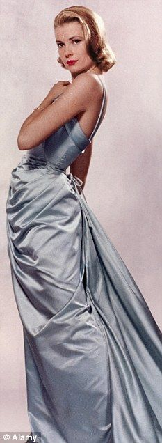 Grace Kelly in Edith Head gown -  'To Catch a Thief'. #EdithHead