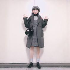 쥬피치(kjiwoo10)'s style | 데일리룩 일곱개 ❤️ instagarm:zoopeach #데일리룩#코디#dailylook #1 아우터-오키
