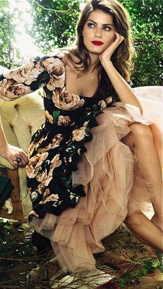 (via Vintage & Romantic / Dolce & Gabbana, Glamour, Brazil)