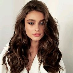 To know more about Taylor Hill Marie Taylor Hill Marie, visit Sumally, a social network that gathers together all the wanted things in the world! Featuring over 64 other Taylor Hill Marie items too! Make Up Braut, Bridal Makeup Looks, Wedding Makeup, Pretty Makeup, Corte Y Color, Brown Hair Colors, Darker Hair Color Ideas, Hair Colour, Gorgeous Hair