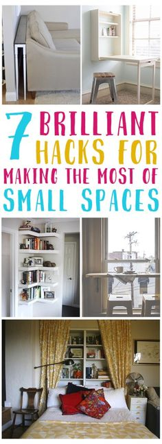 44 super Ideas for closet decor ideas diy small spaces Small Space Organization, Home Organization Hacks, Storage Hacks, Organization Ideas, Storage Ideas, Life Hacks, Decorating Small Spaces, Decorating Ideas, Interior Decorating