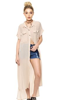Camisa Beige FiveBlu