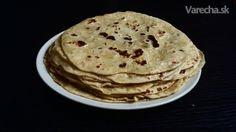 Domáce zemiakové lokše zo špaldovej múky (fotorecept) Pancakes, Pizza, Breakfast, Food, Basket, Morning Coffee, Pancake, Meals, Yemek
