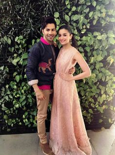 Alia bhatt and varun dhawan looking great together ❤ for badrinath ki dulhania promotions #instagram #bkd #promotions