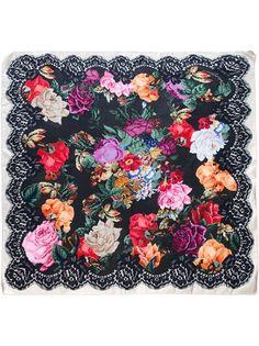 DOLCE & GABBANA - Floral Print Scarf