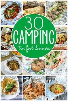 Foil dinner recipes. A camping classic!