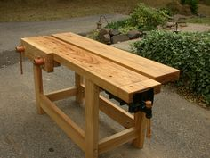 Holtzapfel bench from Daed Toolworks