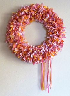 #BuyFabricOnline Indoor Wreath, Outdoor Wreaths, Rag Wreaths, Upholstery Fabric Online, Buy Fabric Online, Christmas Date, Wire Wreath Frame, Fabric Cutter, Fabric Wreath