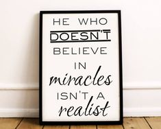 Christian Wall Art Believe In Miracles Christian Home Believe In Miracles, Christian Wall Art, Printable Wall Art, Greeting Cards, Prints, Poster, Etsy, Home Decor, Decoration Home