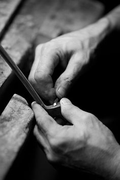 Luthiers Hands by Marion Chatel-Chaix