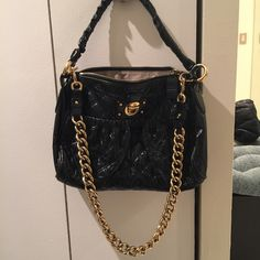 👯host pick👯 marc jacobs quilted julianne stam marc jacobs quilted julianne stam great condition. Top quality leather. Heavy chain. 3lbs. Limited edition. Offer through the offer button Marc Jacobs Bags Shoulder Bags