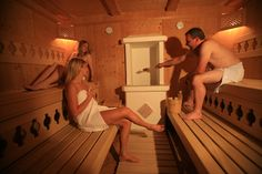 "bio-sauna in the ""Dachstein spa"""