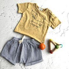 "buhobcn  buhobarcelona  ss18  newcollection  kidsfashion  fashionkids   modainfantil  modaniños"". Bonito conjunto de bebé de la marca Búho Barcelona  ... 256ef38e3d2"