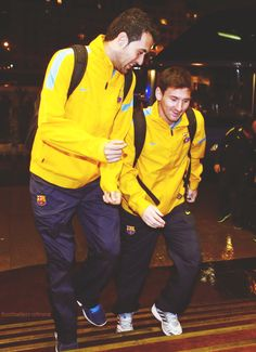 Busi and Messi