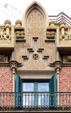 Barcelona - Roger de Llúria 012 b | Cases Cabot 1905 Archi… | Flickr - Photo Sharing!